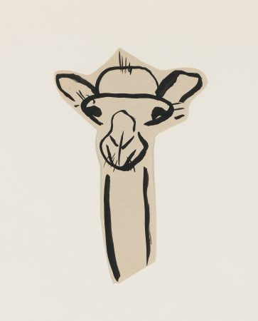 Untitled (Camel head) (1925)