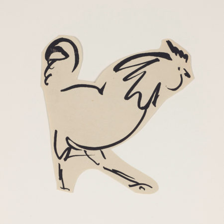 Untitled (Rooster) (1925)